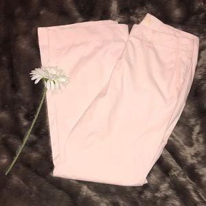 J. Crew Chino light pink pants